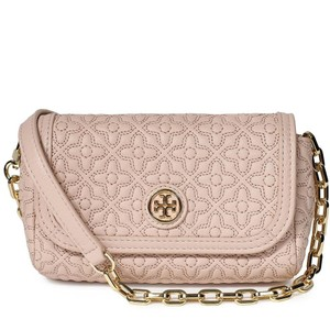 Tory Burch Quilted Leather Cross Body Bag