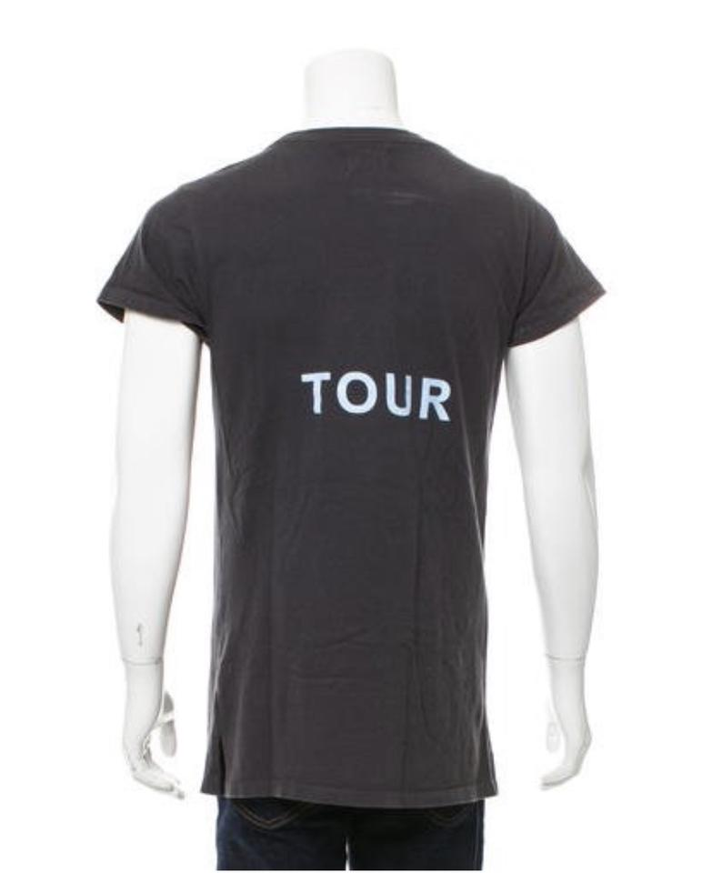 0be6d95571949 YEEZY Faded Black Yeezus Tour Tee Shirt Size 16 (XL