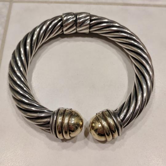 David Yurman David Yurman 10mm Gold Dome Cable Bracelet Image 1