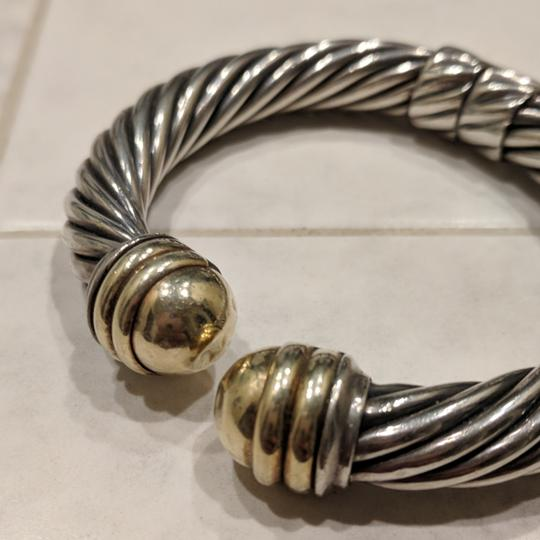 David Yurman David Yurman 10mm Gold Dome Cable Bracelet Image 2