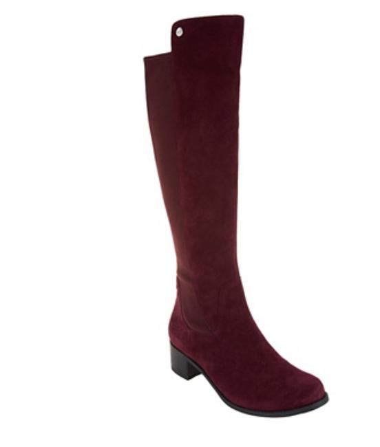 Item - Purple Shaft Suede Leather Boots/Booties Size US 10 Wide (C, D)
