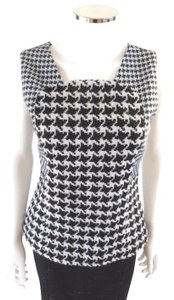 Dior Top Black & White Houndstooth