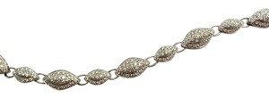 Protea Diamonds Two-Tone 18 Karat White Gold & Diamond Bracelet, 2.01 Carat