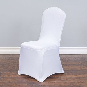 White Lot Of 100 New Stretch Banquet Chair Covers Reception Decoration