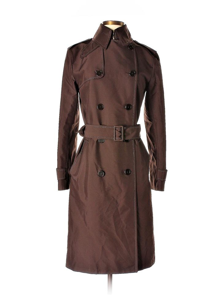 4b175f33 Ralph Lauren Black Label Brown Victoria Double Breasted Coat Size 2 (XS)  76% off retail