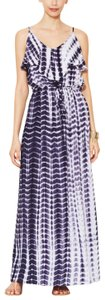 blue Maxi Dress by The Letter Summer Vacation Halter Top Maxi
