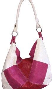 INNUE' Tote in Red, Pink, white