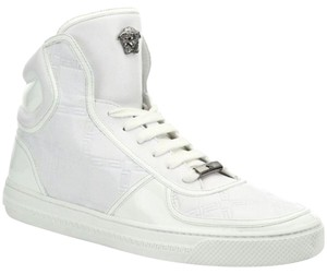 Versace Top Sneakers Trainers WHITE Athletic