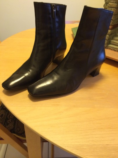 Other Black Leather Boots