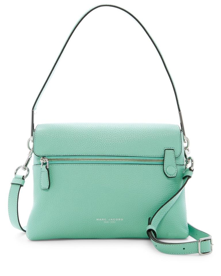 Marc Jacobs Crossbody The Essential Mint Green Leather Shoulder Bag 33 Off Retail