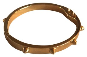 CC SKYE CC Skye gold bangle bracelet with spikes