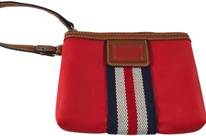 Nine West Wristlet in Red, White, Blue