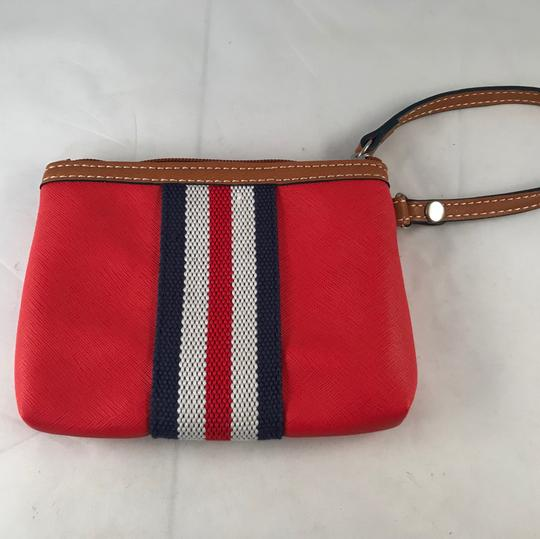 Nine West Wristlet in Red, White, Blue Image 1