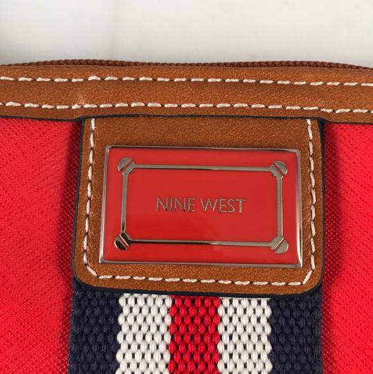 Nine West Wristlet in Red, White, Blue Image 2
