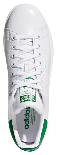 Item - Green and White Stan Smith Sneakers Size US 6.5 Regular (M, B)