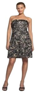 Diane von Furstenberg Tam Tam Strapless Beaded Tribal Embellished Dress
