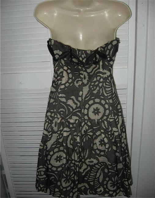 Diane von Furstenberg Tam Tam Strapless Beaded Tribal Embellished Dress Image 5
