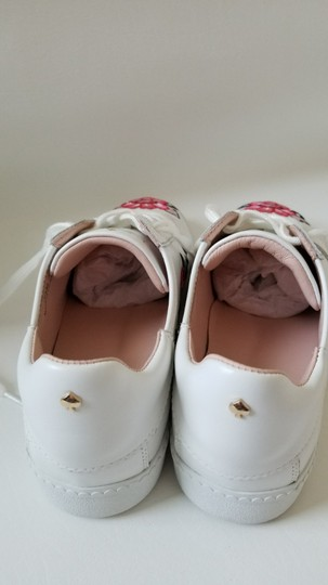 Kate Spade Sneakers Embroidered Leather Sneaker Floral Sneaker Flat white Athletic Image 4