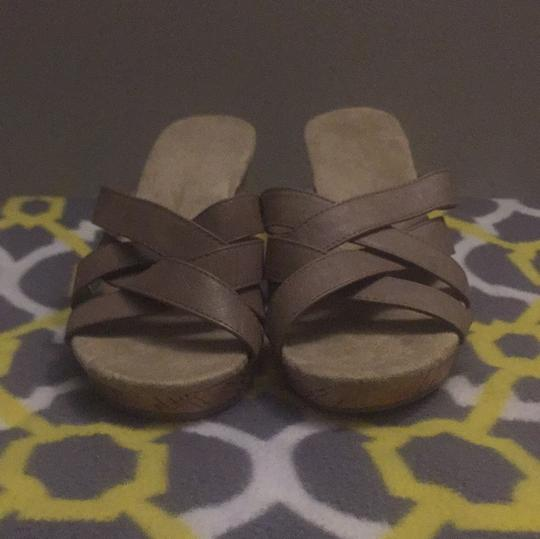 Old Navy taupe Wedges Image 1