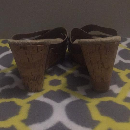 Old Navy taupe Wedges Image 3