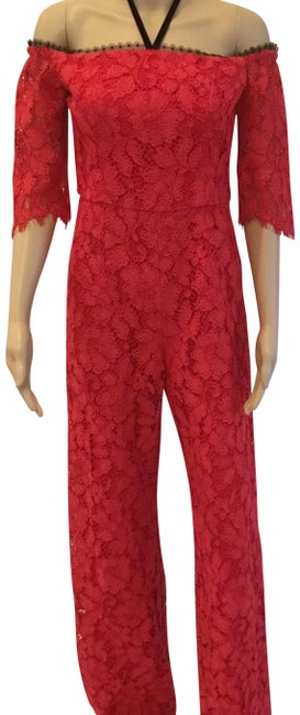 Preload https://img-static.tradesy.com/item/23209344/alexis-red-joaquin-lace-long-romperjumpsuit-size-8-m-0-1-650-650.jpg