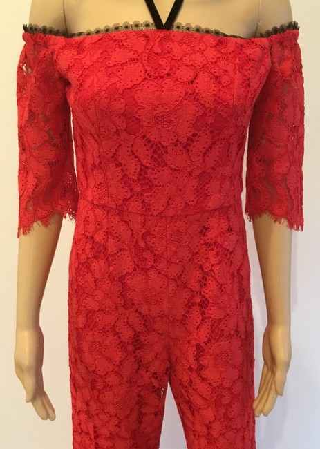 Alexis Off Shoulder Wide Leg Night Out Lace Sexy Dress