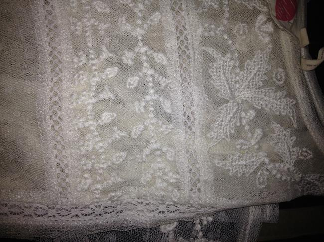 Lilka Lace Shell Camisole Embroidered Top Off White Image 6