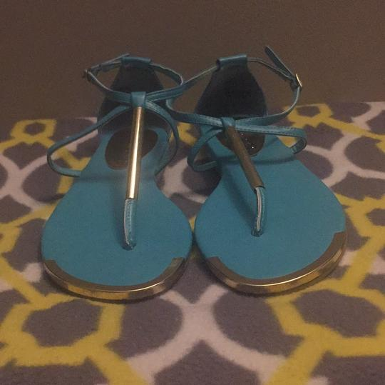 Rampage Turquoise Sandals Image 1