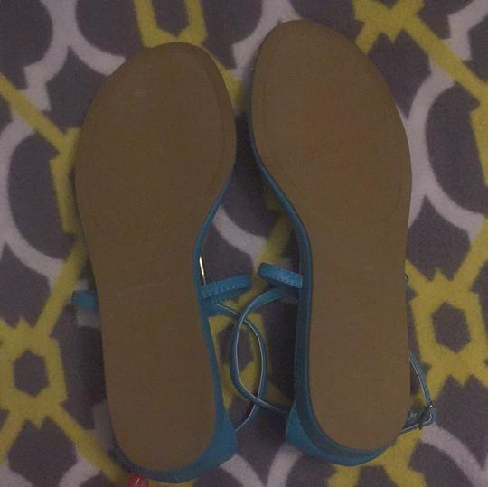 Rampage Turquoise Sandals Image 4