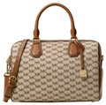 MICHAEL Michael Kors Satchel in Natural/Luggage