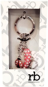 Roccobarocco Purse Charm and Keychain