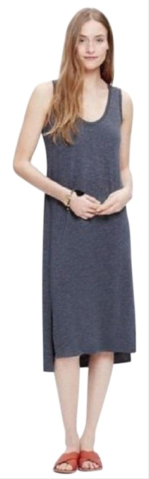 bd3c6aa6a83 Charcoal Gray Maxi Dress by Madewell Tank Shortsleeve Small Image 0 ...