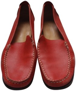 Cole Haan Loafer Close Toes red Flats