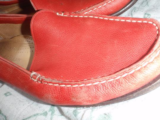 Cole Haan Loafer Close Toes red Flats Image 3