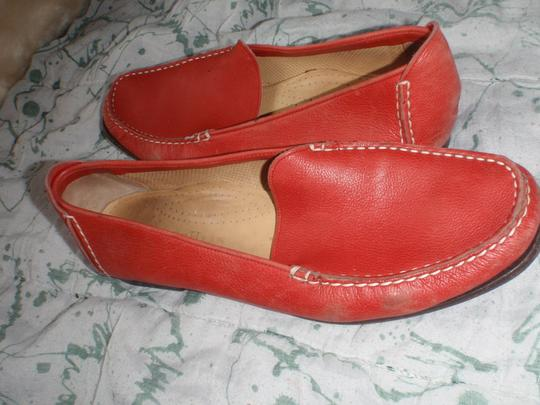 Cole Haan Loafer Close Toes red Flats Image 4