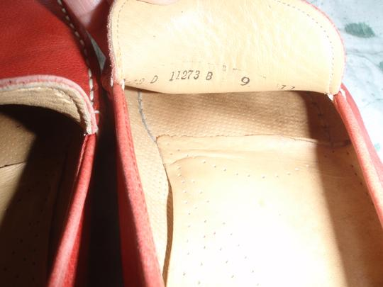 Cole Haan Loafer Close Toes red Flats Image 8