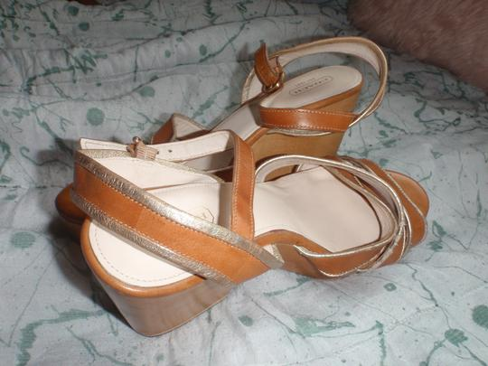 Coach brown Wedges Image 10