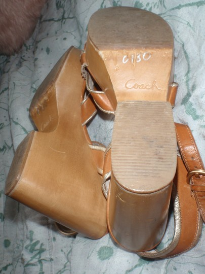 Coach brown Wedges Image 7