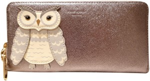 Kate Spade Kate Spade Star Bright Owl Applique Lacey Continental Wallet