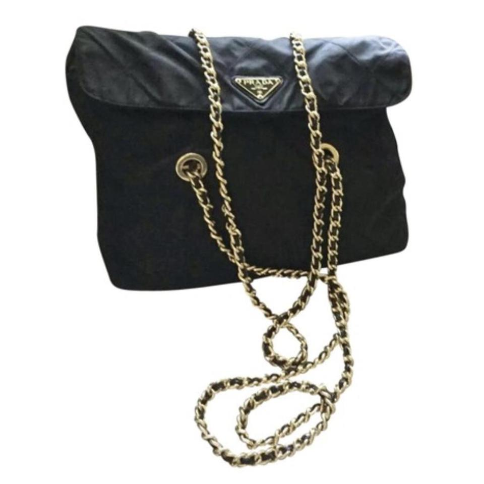 86629d032db4 Prada Chanel Quilted Chain Flap Woc Neverfull Logo Shoulder Bag Image 0 ...