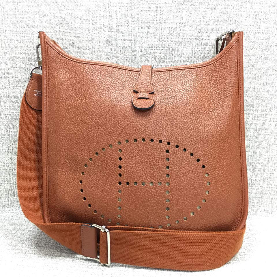 4f88b447ef9 Hermès Evelyne Iii Pm Epsom Calfskin Leather Shoulder Bag - Tradesy