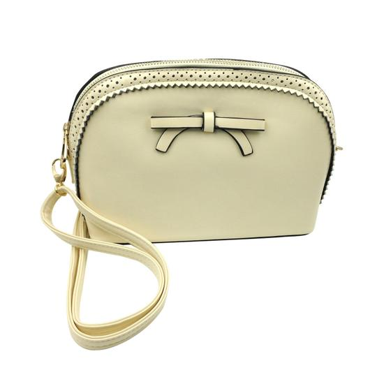 Preload https://img-static.tradesy.com/item/23209935/ancient-bow-small-purse-white-faux-leather-shoulder-bag-0-0-540-540.jpg