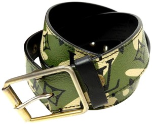 Louis Vuitton (ULTRA RARE) Monogramouflage Belt 227179