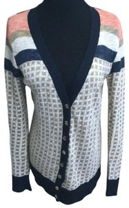 Tory Burch New Spring Outerwear Spring Outerwear Spring Coverup Spring Cardigan New Thin Spring Cover Button Down Shirt multicolor