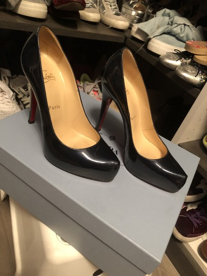 Christian Louboutin Patent blue Pumps Image 2