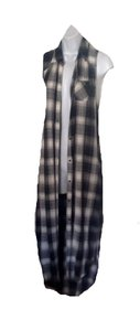 Mossimo Supply Co. Button Down Shirt black flannel