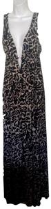black /white Maxi Dress by other