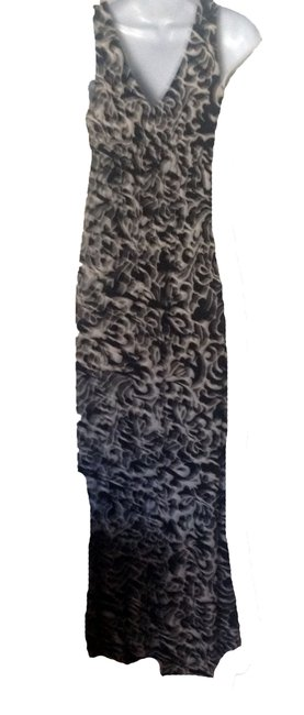 black /white Maxi Dress by other Image 1