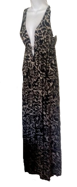 black /white Maxi Dress by other Image 2
