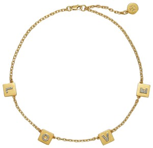 Tory Burch Message Delicate Necklace